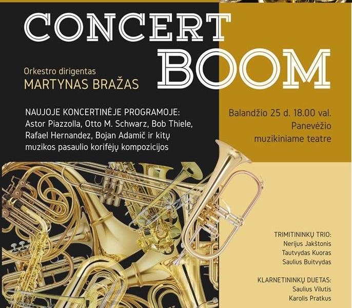 Concert boom afiša